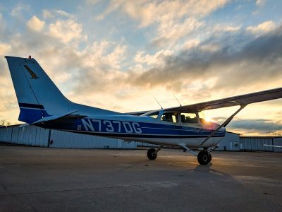 N737DG Sunset